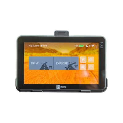 NEW! HEMA HX1 Navigator ON/OFF Road GPS * REPLACES HN7 * + FREE 4WD MAP UPDATES