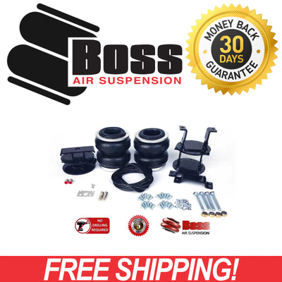 LA14 BOSS Air Bag Kit for Nissan Navara 4WD D40 S6 ST-X RX ST DC