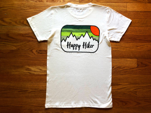 The Fading Hiker Uni-Sex Hemp T-Shirt