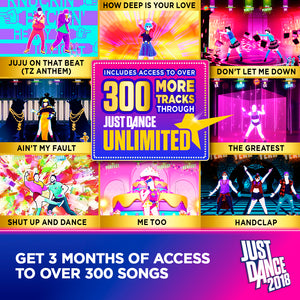 Just Dance 2018, Ubisoft, Nintendo Wii U, 887256028602