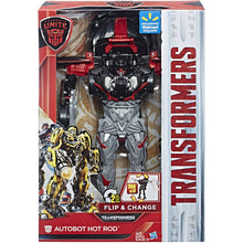 Transformers: Autobots Unite Flip & Change Autobot Hot Rod
