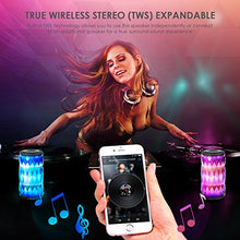 LED Bluetooth Speaker,Night Light Changing Wireless Speaker