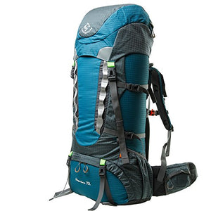 Facenature Outdoor Sports Waterproof Climbing Hiking Travel Backpack