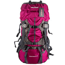 WASING 55L Internal Frame Backpack Hiking Backpacking Packs