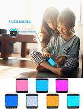Bluetooth Speakers, Wireless Ultra Portable Color Changing LED Light Speaker