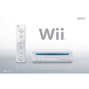 Refurbished Nintendo Wii Console White With Wii Fit Balance Board