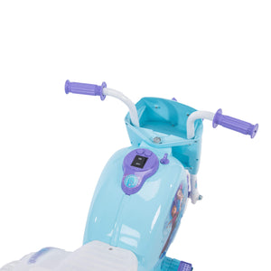 Disney Frozen 6V Girls Ride On Motorcycle Tricycle for Toddlers by Huffy
