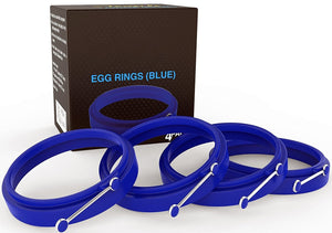 New Egg Ring 4-Pk, Silicone Egg Rings
