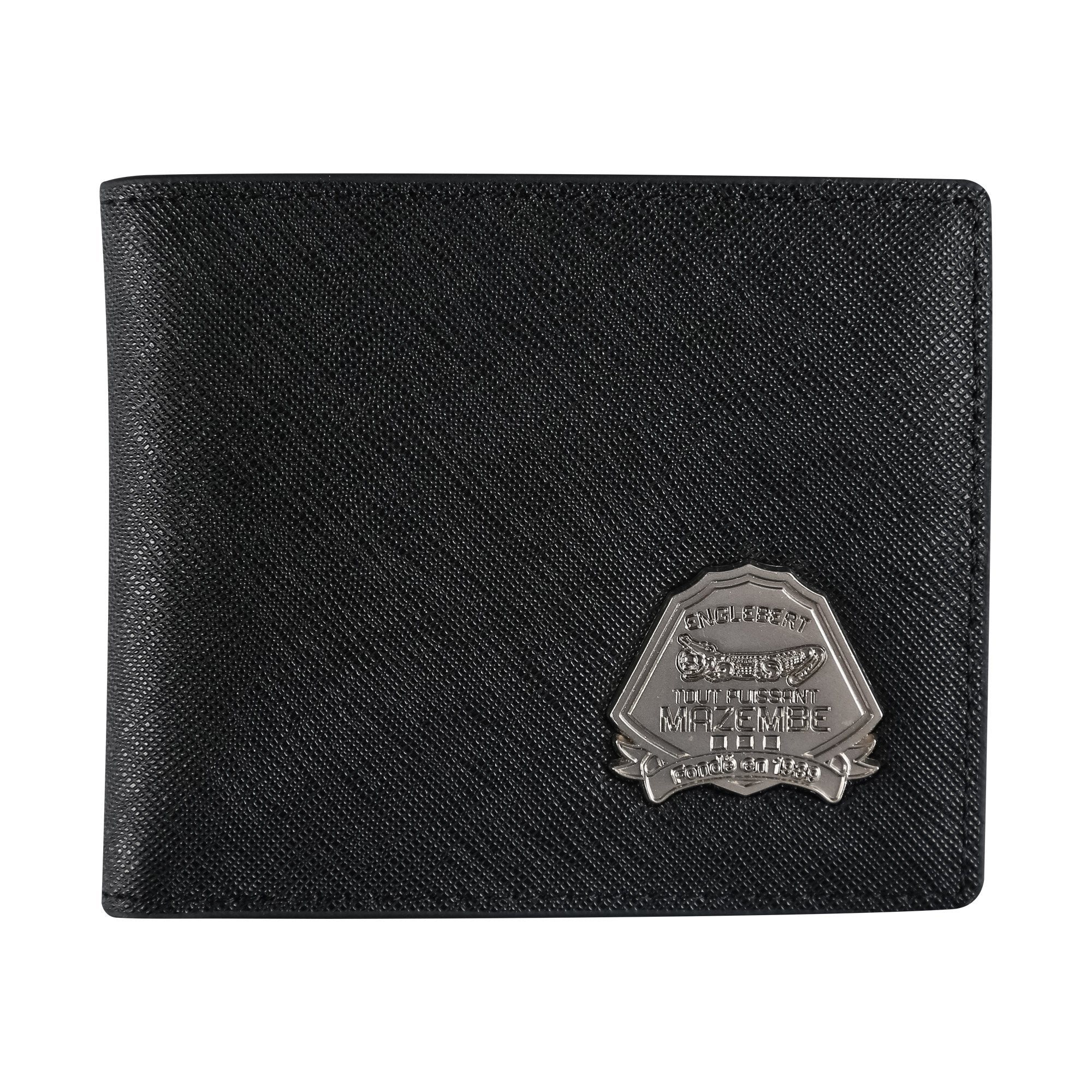 TPM Saffiano Leather Wallet With TPM Logo
