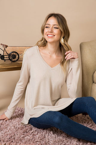 Paige in Beige Tunic