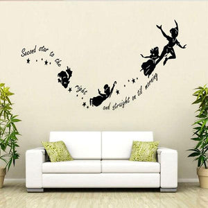 Tinkerbell Star Peter Pan Wall Stickers