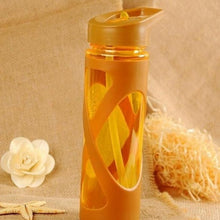 New Bright and Trendy 580ml  Seal Straw Sport Water Bottle -Eco-friendly