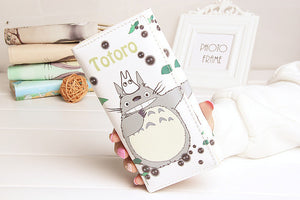 DUDINI Fashion Totoro Women PU Leather Wallets