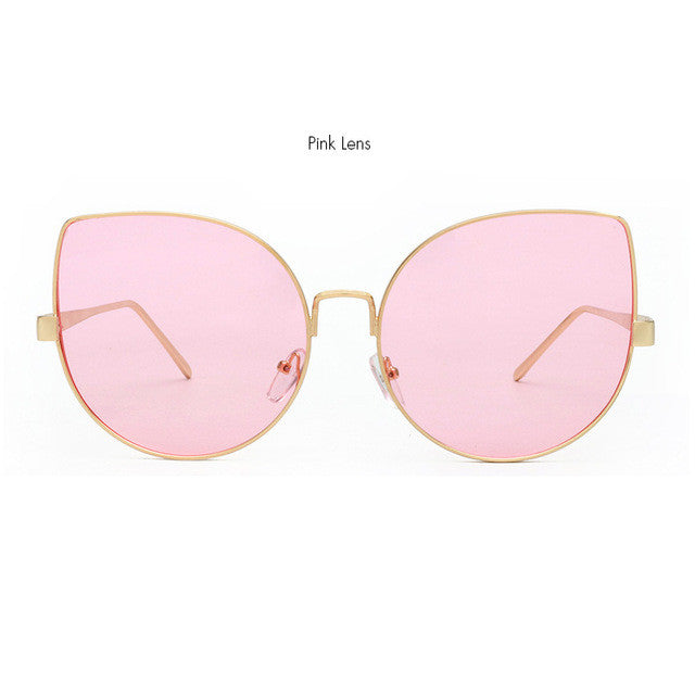 ROYAL GIRL Cool Cat Eye Sunglasses