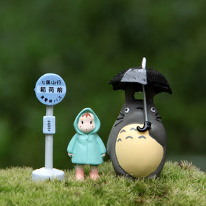 Hot ! NEW 3cm-5cm 3pcs/set mini My Neighbor Totoro  action figures