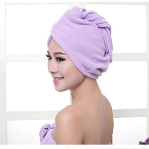 2017 High Quality Microfiber Hair Dry Quick Bath Towel