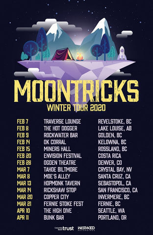 MOONTRICKS HEADS OUT ON FIRST TOUR OF 2020