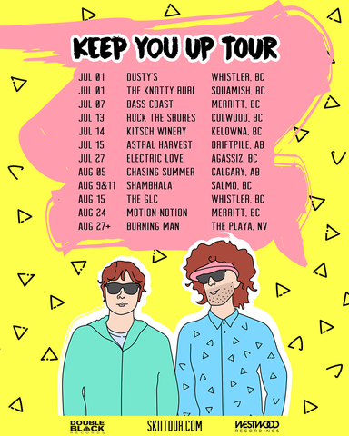 SkiiTour announce Summer Tour Dates