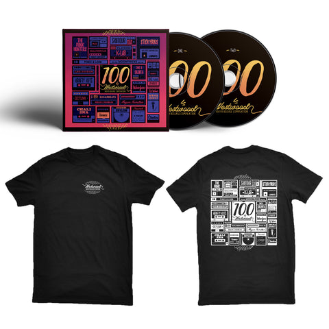 Westwood 100th Release - Limited Edition T-Shirt & CD Bundle