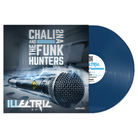 "Chali 2na & The Funk Hunters ""ILLectric"" EP Limited Edition Vinyl"