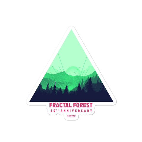 2018 Fractal Forest Stickers