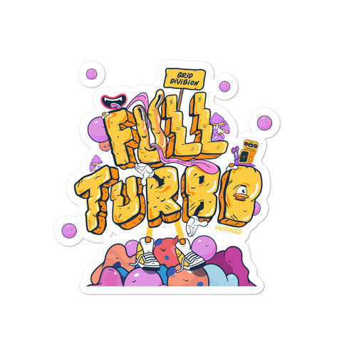 Grid Division / Full Turbo Stickers