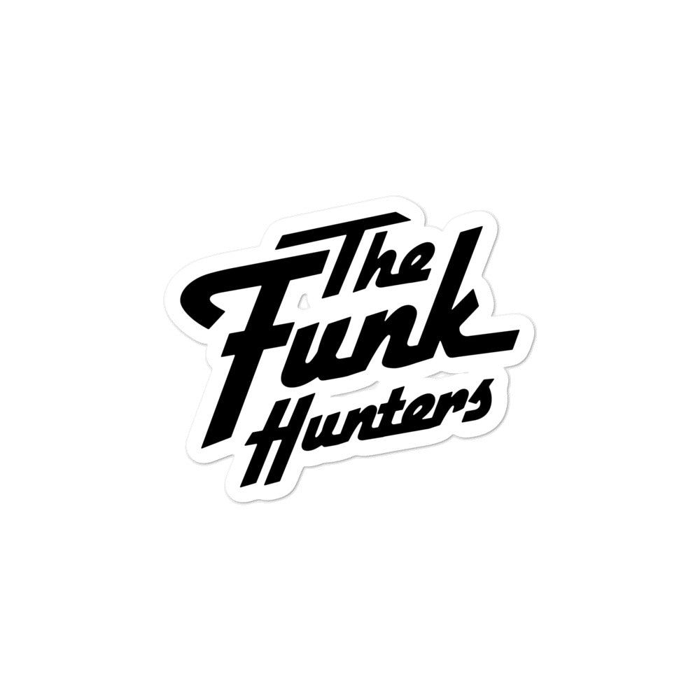 The Funk Hunters Bubble-free stickers