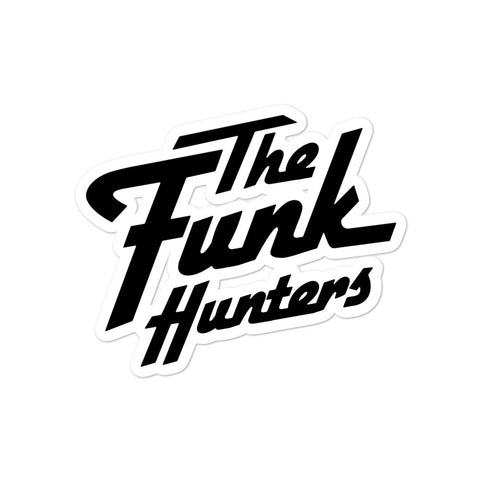 The Funk Hunters Logo Stickers