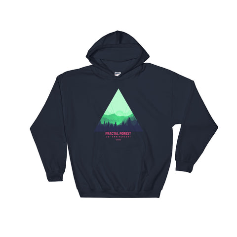 2018 Fractal Forest Hooded Sweatshirt
