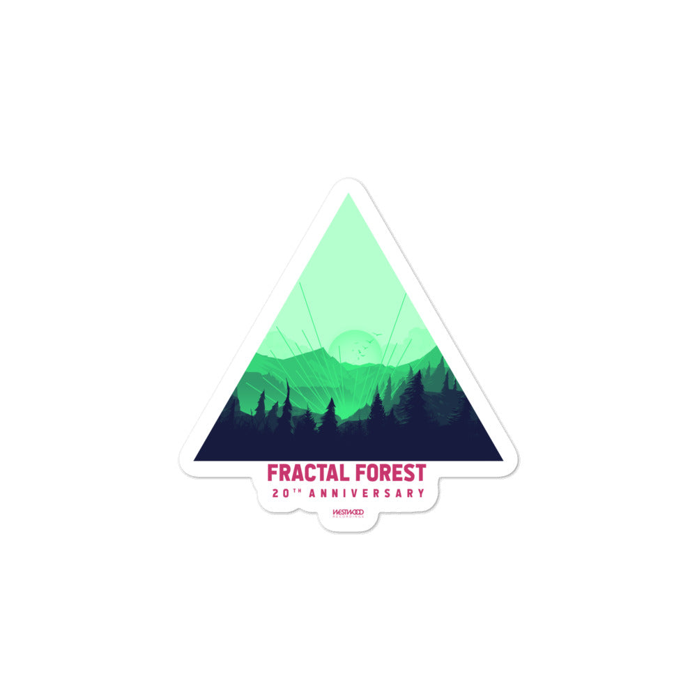 2018 Fractal Forest Bubble-free stickers