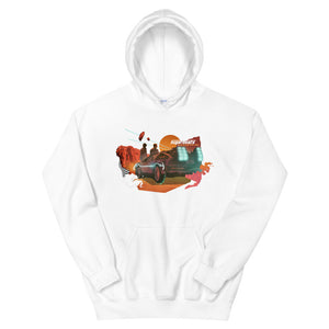 SugarBeats / Back To The Badlands Hoodie
