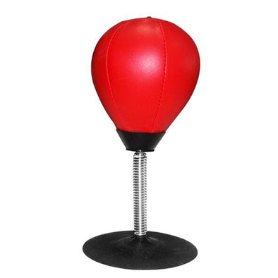 Desk Boxing Punching Bag. Easy Fix Fitness Straining Balls.