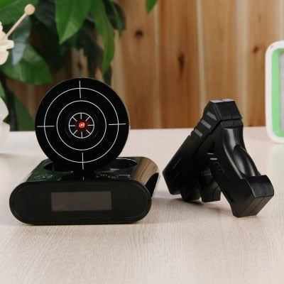 T5-Gun Alarm Clock. Best Alarm-2019.  Shoot Alarm Clock.