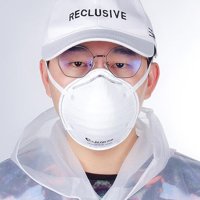 Hub-N95 Pro Mask. Disposable Professional Mask. Cup Shape Mask N95