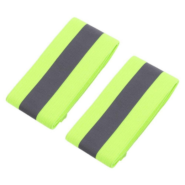 **FREE -JUST PAY SHIPPING*** Ray-10 Visibility Band. Reflective High Visibility Band. Best Wristbands Elastic Ankle Wrist Bands for Runner Jogger Biker At Nigh. Also For Walking Dogs - Pets.  Sports Wrist Support-2PCS/Pair .