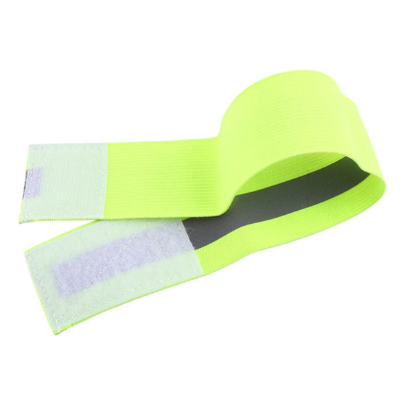 Ray-10 Visibility Band. Reflective High Visibility Band. Best Wristbands Elastic Ankle Wrist Bands for Runner Jogger Biker At Nigh. Also For Walking Dogs - Pets.  Sports Wrist Support-2PCS/Pair .