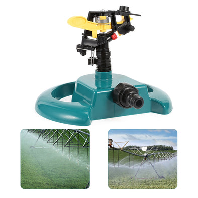 360 Degree Rotating Water Sprayer Irrigation System Home Lawn Garden Watering Automatic Rotation Sprayer Nozzles For Fishpond