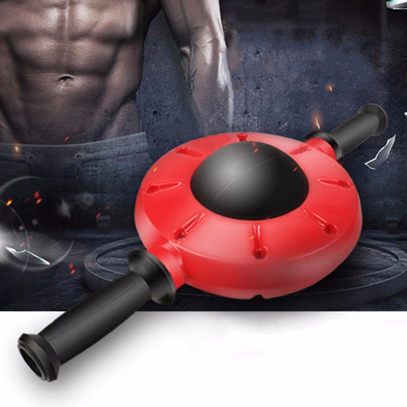 Abdominal Wheel Roller Muscle Trainer - Best Fitness Equipment  For Exercise & Workout- With Non-Slip Handle - 360 Degrees