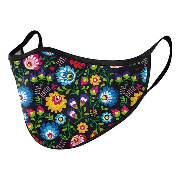 Hallo3 Reusable & Washable Halloween Printed face Mask.Great for Dust Protection.
