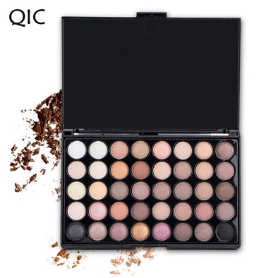 ES104 Matte Eye shadow Pallete. Glitter Waterproof Long Lasting EyeShadow palette with 40 colors.Makeup Easy to Wear