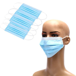 5Pcs Anti-Dust Dustproof Disposable  Masks Earloop Face Mouth Masks Facial Protective Cover Masks 3 Layers