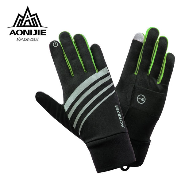 ON-I  Winter Gloves  - Unisex  Gloves for Winter Sports - Runnig/Jogging - Walking - Driving - Touchscreen Windproof. Thermal Tough Gloves for Maximum Protection - Use Also for Hiking Cycling Skiing Bicycle.