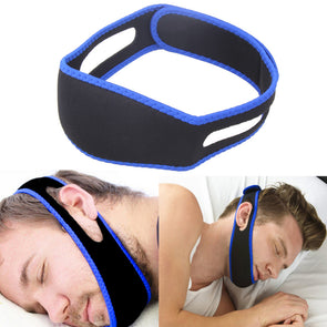 S-Solution-Snore Belt. Anti Snore Chin Strap. For Stop Snoring. Great  Snore Belt Sleep Apnea Chin Support Straps for Woman Man Health care Sleeping Aid Tools