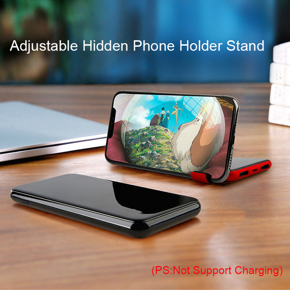 Base-2  Wireless Charger. Power Bank For iPhone X 8 Samsung S9.  Battery Charger 5W. Wireless Charging Pad. 8000mAh QI Wireless Charger