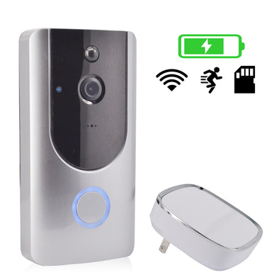 **Altisor CW5 Smart Wireless Doorbell . Security Video Doorbell for Your For Home.  Intercom & Door Viewer Included. Battery Powered.