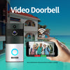 VITY Video Doorbell. Waterproof Wireless Doorbell . WiFi & Two Way Audio. Battery Powered.
