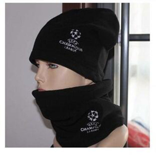 Soccer Scarf Outdoor Sports Windproof -for Champions League Fans