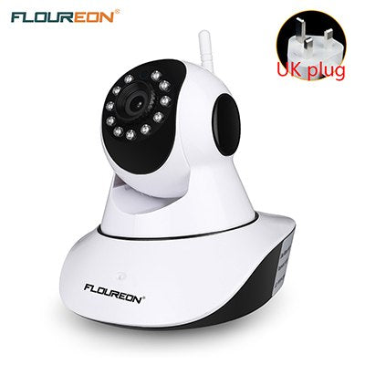 Floureon 720P Wireless IP camera 1.0MP WLAN H.264 Security CCTV Pan/Tile Night vision WiFi camera Baby Monitor 2 way audio cam