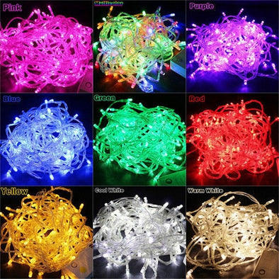 KS7 Light for Christmas Tree. Outdoor - Indoor.  Waterproof. AC110V /220V .  Outdoor. Waterproof . Also Great for Wedding, Party & Garden Decorations.( #K7S)