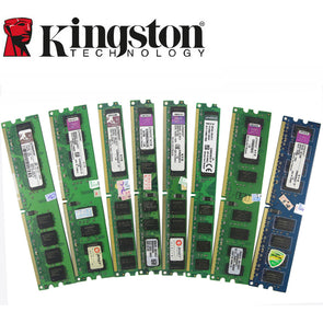 Kingston Desktop PC Memory RAM Memoria Module DDR2 800 667 MHz PC2 6400 1GB 2GB 4GB 8GB 16GB  DDR3 1333 1600 MHz PC3-12800 10600